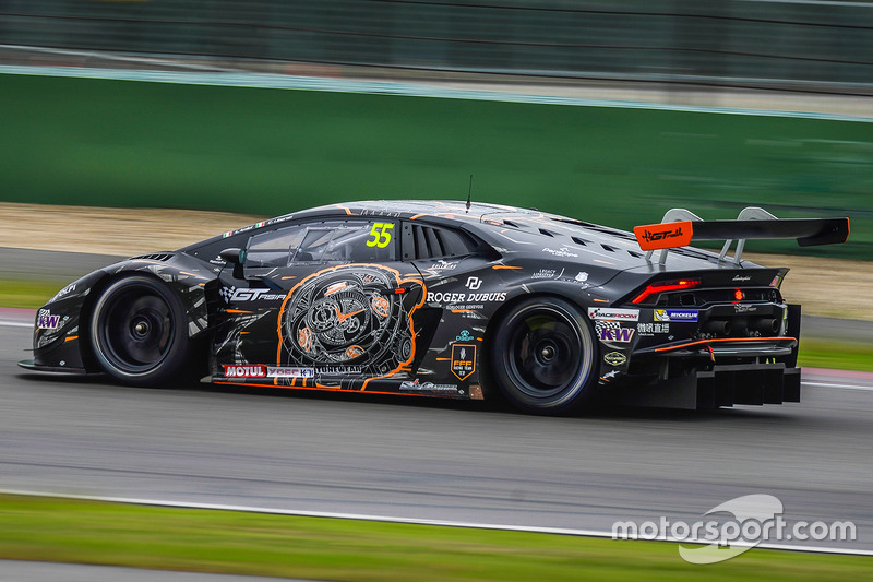 55 fff racing lamborghini huracan gt3 edoardo liberati andrea amici at shanghai ii. Black Bedroom Furniture Sets. Home Design Ideas