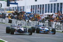 Jacques Villeneuve, Williams FW19 Renault win his Championship