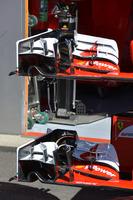 Formula 1 Foto - Ferrari SF16-H: dettaglio dell'ala anteriore