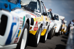 Vintage rally cars
