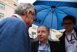Jean Todt, FIA President with Carlos Sainz