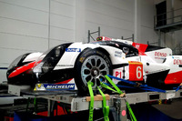 WEC Photos - Toyota Racing Toyota TS050 Hybrid is prepare for the flight
