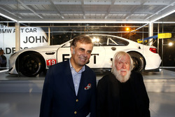 Ludwig Willisch, BMW North America Chief with John Baldessari