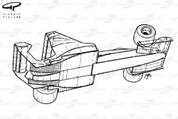 Toleman TG183B aero overview