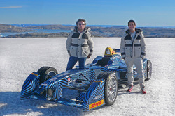Lucas di Grassi and Alejandro Agag, Formula E CEO