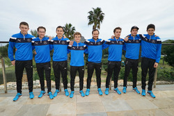 Paul di Resta, Maximlian Götz, Robert Wickens, Lucas Auer, Gary Paffett, Daniel Juncadella, Chistian Vietoris, Esteban Ocon, Mercedes-AMG DTM Team HWA AG