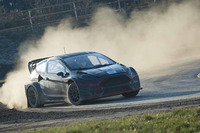Ралі-Крос Фотографії - Алекс Вюрц тестує World RX Team Austria Ford Fiesta