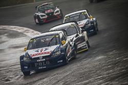 Johan Kristoffersson, Volkswagen Team Sweden, Timur Timerzyanov, World RX Team Austria, Anton Marklund, Volkswagen Team Sweden