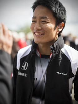 Nobuharu Matsushita, McLaren F1 test and development driver