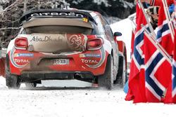 Khalid Al-Qassimi, Chris Patterson, Citroën DS3 WRC, Citroën World Rally Team