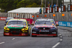 Chaz Mostert, Steve Owen, Rod Nash Racing Ford, Shane van Gisbergen, Alexandre Prémat, Triple Eight Race Engineering Holden