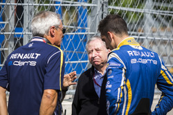 Jean Todt, FIA President, Sébastien Buemi, Renault e.Dams