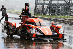Roman Rusinov, Nathanael Berthon, Rene Rast, #26 G-Drive Racing Oreca 05 Nissan during a snow shower