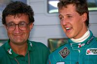Formula 1 Foto - Michael Schumacher con Eddie Jordan