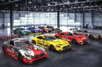 Blancpain Endurance Photos - Mercedes-AMG GT3 Lineup