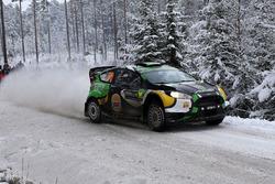 Yazeed Al-Rajhi, Michael Orr, Ford Fiesta WRC