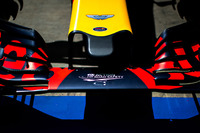 Forma-1 Fotók - Aston Martin logó, Red Bull Racing RB12