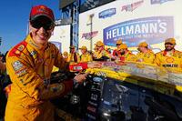 NASCAR Sprint Cup Photos - Race winner Joey Logano, Team Penske Ford