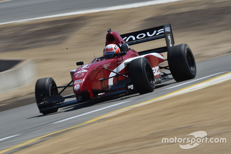 Motorsport Com S Top 10 Mazda Road To Indy Drivers Of 2016