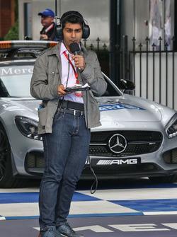 Karun Chandhok, Channel 4 Technical Analyst