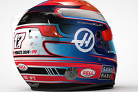 Formula 1 Photos - Romain Grosjean Monaco GP helmet with tribute to Jules Bianchi