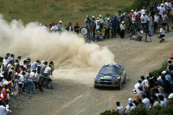 Kenneth Eriksson, Staffan Parmander, Subaru Impreza 555