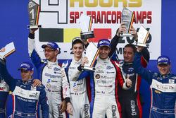 Podium LMP3: Race winners #9 Graff Racing Ligier JS P3 - Nissan: Eric Trouillet, Paul Petit, Enzo Guibbert