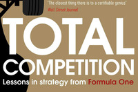 Formula 1 Photos - Ross Brawn and Adam Parr book cover, Total Competition: Lessons in Strategy from Formula One