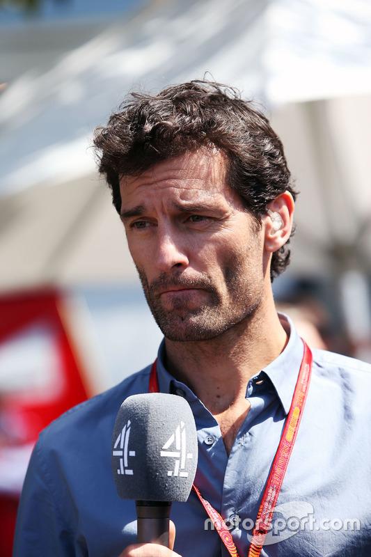Mark Webber, Porsche Team Fahrer und Channel 4 Moderator