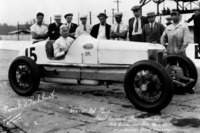 IndyCar Photos - Race winner Frank Lockhart