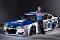 NASCAR Sprint Cup Photos - Dale Earnhardt Jr., Hendrick Motorsports Chevrolet new Nationwide livery