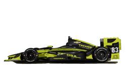 Charlie Kimball Chip Ganassi Racing Team, livery for the Phoenix GP