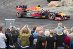 David Coulthard, Red Bull Racing demo run