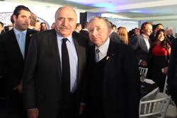 José Abed, Vice president FIA México and Jean Todt, FIA President
