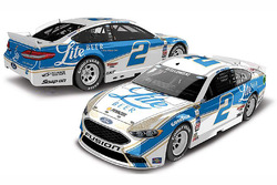 Brad Keselowski, Team Penske Ford special throwback scheme