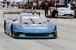 #90 VisitFlorida.com Racing Corvette DP: Marc Goossens, Ryan Hunter-Reay