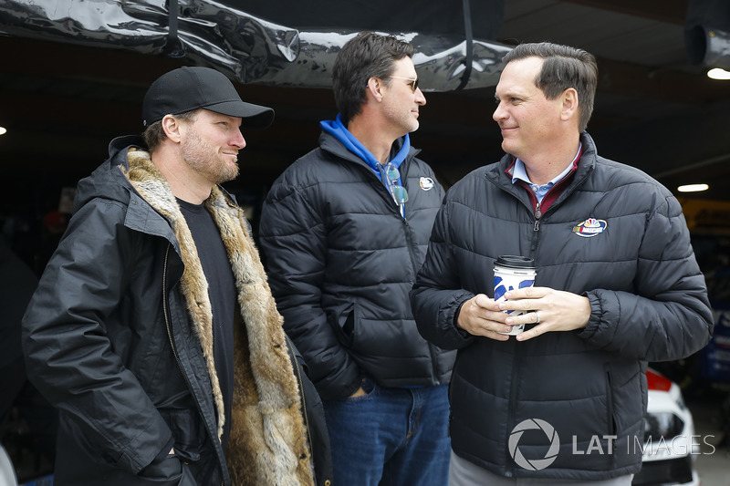 Dale Earnhardt Jr. and Steve Letarte