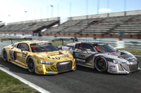 Asian GT Photos - Alex Yoong and Alex Au, Phoenix Racing, Audi R8 LMS GT3 and Marchy Lee and Shaun Tong, Phoenix Racing, Audi R8 LMS GT3