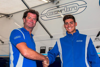 USF2000 Photos - Trevor Carlin welcomes Rinus van Kalmthout to the Carlin Benik USF2000 team