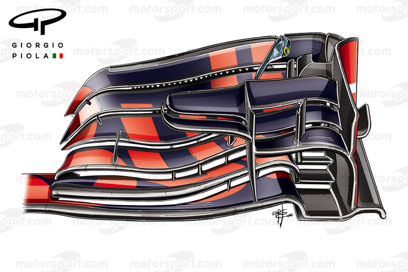 Red Bull RB12 front wing, Chinese Grand-Prix