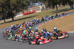 Rotax Micro-Max led by Enzo Scionti and Justin Arseneau