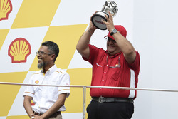 Podium: Mufaddal Choonia, Aspar Team Mahindra