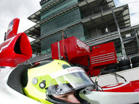IRL: Indy 500: Bruno Junqueira provisional pole-sitter