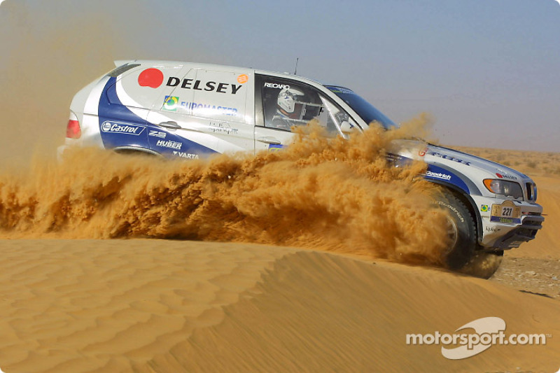 Dakar: BMW stage 12 report