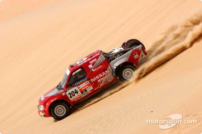 Dakar: Nissan stage 12 report