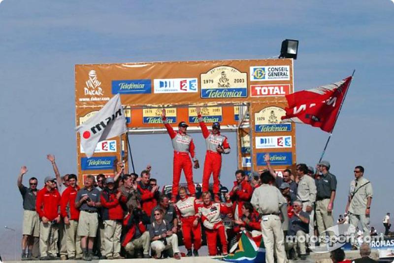 Dakar: Nissan final report