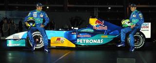 Formula 1 Sauber launches C23 in Salzburg