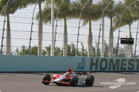 IRL: IndyCar drivers test Homestead high banks