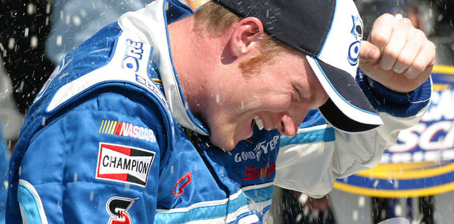 BUSCH: Earnhardt Jr wins again at Daytona