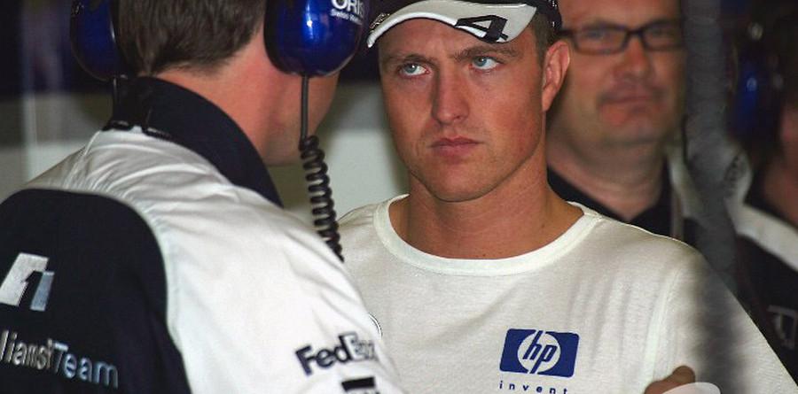 Ralf Schumacher sidelined by injury